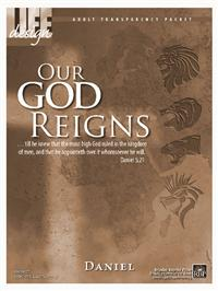 Image for 0027 Our God Reigns: Daniel  Adult Transparency Packet