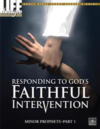 Image for 0036 Responding to God's Faithful Intervention: Minor Prophets, Part 1  Adult Leader's Guide