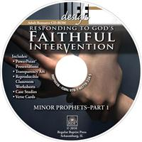 Image for 0038 Responding to God's Faithful Intervention: Minor Prophets, Part 1  Adult Teacher Resource CD