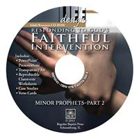 Image for 0043 Responding to God's Faithful Intervention: Minor Prophets, Part 2  Adult Teacher Resource CD