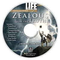 Image for 0053 Zealous for the Truth: 2 Peter, 2 & 3 John, Jude  Adult Teacher Resource CD