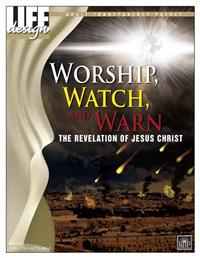 Image for 0057 Worship, Watch, and Warn: Revelation  Adult Transparency Packet
