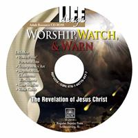 Image for Worship, Watch, and Warn: Revelation  Adult Teacher Resource CD-ROM