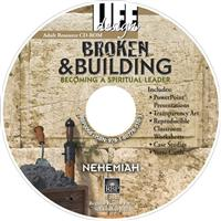 Image for 0068 Broken and Building: Becoming a Spiritual Leader: Nehemiah  Adult Teacher Resource CD-ROM