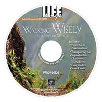 Image for 0093 Walking Wisely in a Foolish World: Proverbs   Adult Resource CD