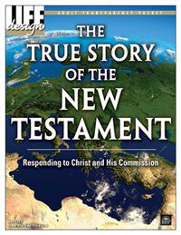 Image for 0107 True Story of the New Testament Transparency Packet