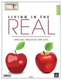 Image for 0112 Living in the Real: Biblical Realities for Life   Adult Transparency Packet