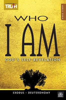 Image for 0138 Adult Bible Study Book Who I AM: God's Self-Revelation