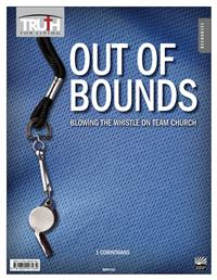 Image for 0185 Out of Bounds: Blowing the Whistle on Team Church: 1 Corinthians Adult Transparency Packet