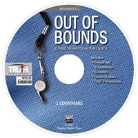 Image for 0186 Out of Bounds: Blowing the Whistle on Team Church: 1 Corinthians Adult Resource CD