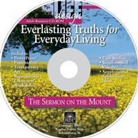 Image for 1638 Everlasting Truths: The Sermon on the Mount  Adult Teacher Resource CD-ROM