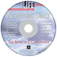 Image for Abounding Grace: 2 Corinthians  Adult Teacher Resource CD-ROM