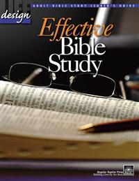 Image for Effective Bible Study  Adult Teacher's Guide