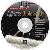 Image for Effective Bible Study  Adult Teacher Resource CD-ROM