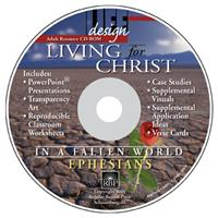 Image for 1678 Living for Christ in a Fallen World: Ephesians  Adult Teacher Resource CD-ROM
