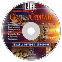 Image for Glory and Captivity: Divided Kingdom  Teacher Resource CD-ROM
