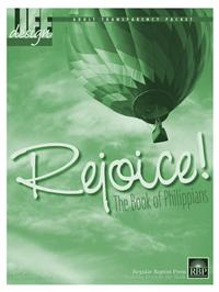 Image for Rejoice: Philippians  Adult Transparency Packet