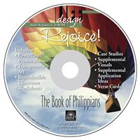 Image for 1692 Rejoice: Philippians  Adult Teacher Resource CD