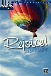 Image for 1693 Rejoice: Philippians  Adult Bible Study Book