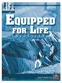 Image for 1705 Equipped for Life: Colossians  Adult Transparency Packet