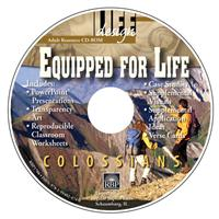Image for 1706 Equipped for Life: Colossians  Adult Teacher Resource CD-ROM