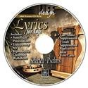 Image for 1711 Lyrics for Life: Selected Psalms  Adult Teacher Resource CD-ROM
