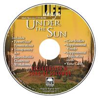 Image for 1721 Under the Sun: Ecclesiastes and Song of Solomon  Adult Teacher Resource CD
