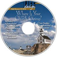 Image for 1732 Where Is Your Church Going? 1 Timothy  Adult Teacher Resource CD