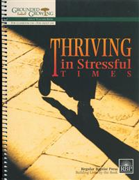 Image for Thriving in Stressful Times  Adult Teacher's Guide