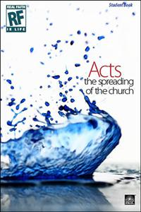 Image for The Spreading of the Church: Acts   Senior High   Student Devotional Book