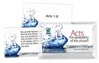 Image for The Spreading of the Church: Acts   Senior High   Memory Verses Card Pack