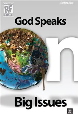 Image for God Speaks on Big Issues  Senior High Student Devotional Book