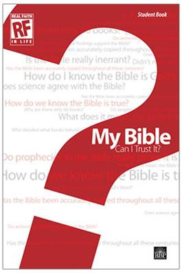 Image for My Bible: Can I Trust It?  Senior High Student Devotional Book