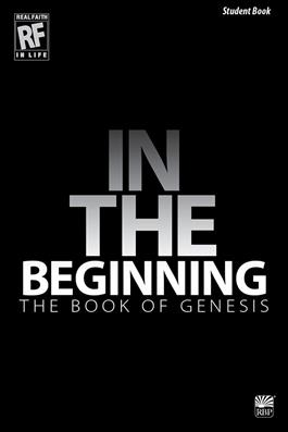 Image for In the Beginning: The Book of Genesis Senior High Student Devotional Book