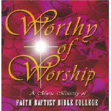 Image for Worthy of Worship cd (FBBC)