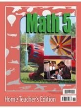 Image for Math 5 for Christian schools