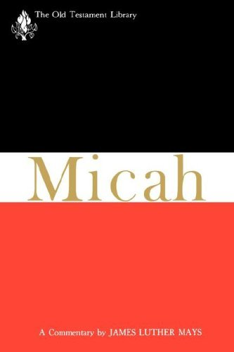 Image for Micah (OTL) (The Old Testament Library)
