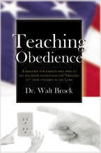 Image for Teaching Obedience