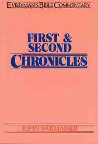 Image for First & Second Chronicles- Bible Commentary (Everymans Bible Commentaries)