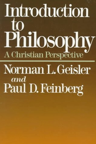 Image for Introduction to Philosophy : A Christian Perspective