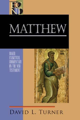 Image for ECNT Matthew (Baker Exegetical Commentary on the New Testament)