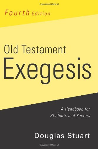 Image for Old Testament Exegesis: A Handbook for Students and Pastors