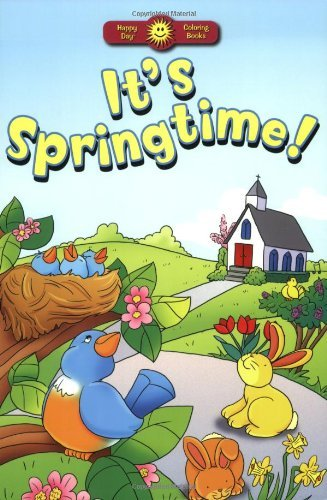 Image for It's Springtime! (Happy Day Coloring Books: Seasonal)