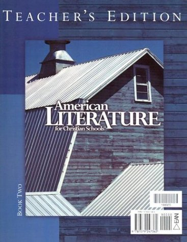 Image for American Literature for Christian Schools Teacher's Edition books 1 & 2