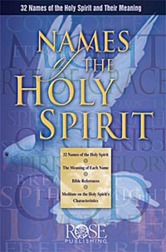 Image for NAMES of the HOLY SPIRIT Pamphlet by Rose Publishing