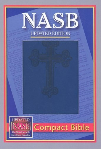 Image for NASB Compact Bible, Blue Cross, LT
