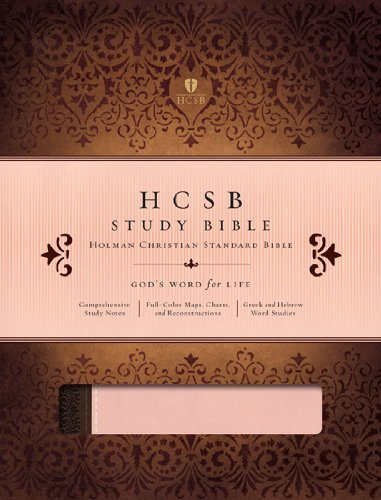 Image for HCSB Study Bible (Blush and Brown)
