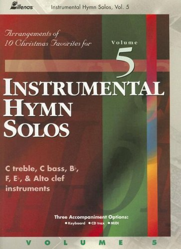 Image for Instrumental Hymn Solos, Volume 5: Arrangements of 10 Christmas Favorites