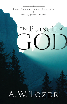 Image for The Pursuit of God