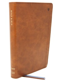 Image for NET Bible, Thinline, Leathersoft, Brown, Comfort Print: Holy Bible
